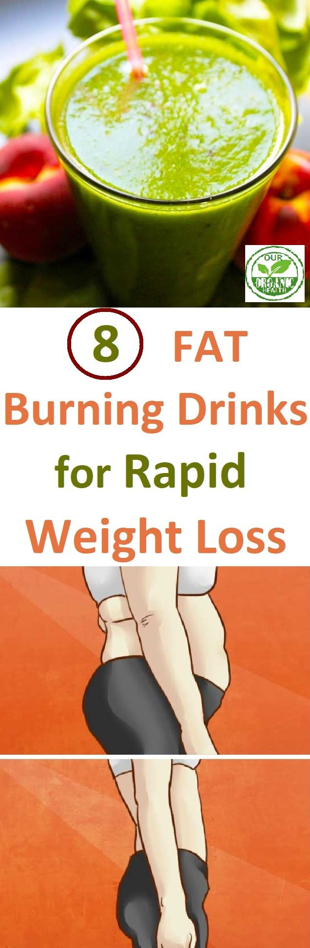 8 Fat – Burning Drinks for Rapid Weight Loss
