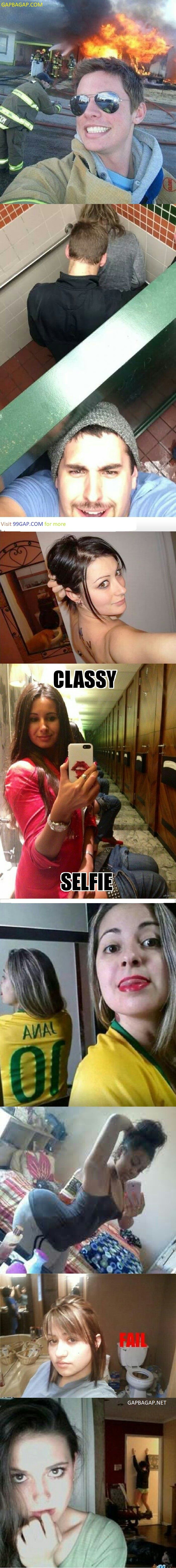#Funny Selfie Fail Collection From Around The World #funnypictures