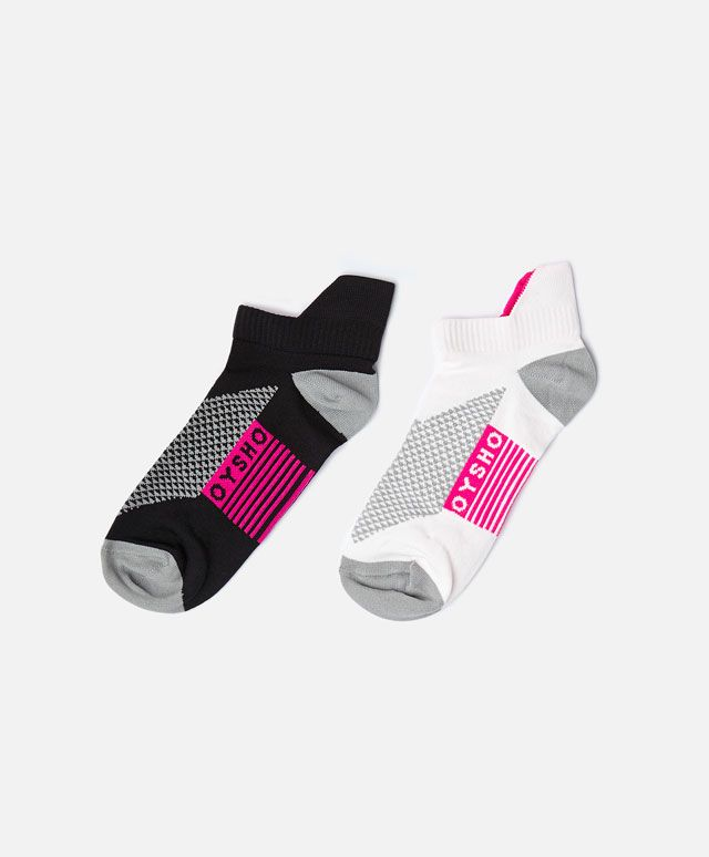 Pack of 2 pairs of technical socks - OYSHO