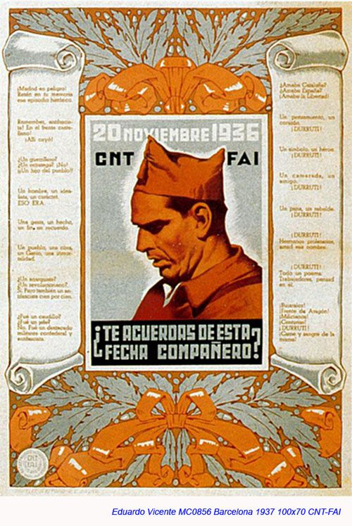 Spain - 1937. - GC - poster - Eduardo Vicente