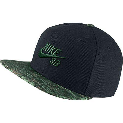 promo code c05bc baaf3 canada nike mens sb seasonal snapback hat black camo green nike www 0aca5  42dd2