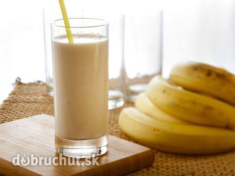 Banánovo-kávový kokteil