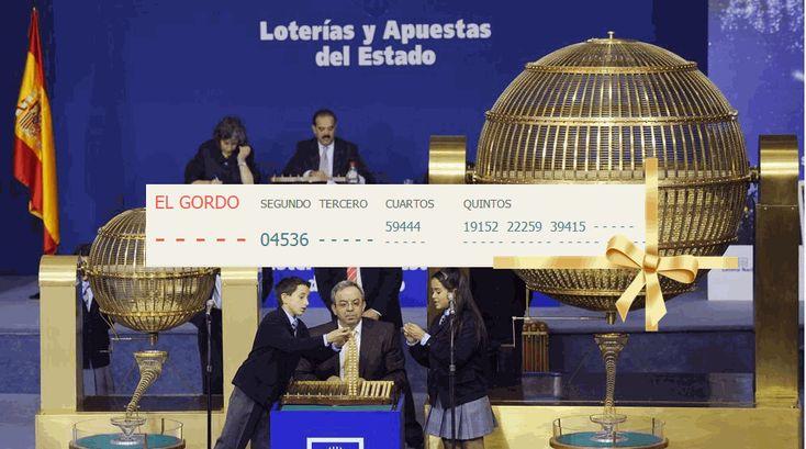 La provincia de Málaga agraciada con el segundo premio de la Lotería de Navidad con el número 04536
