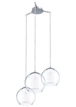 Moderni riippuvalaisin sopii pienempiinkin tilohin lasikupujensa ja pyöreän muotonsa ansiosta.