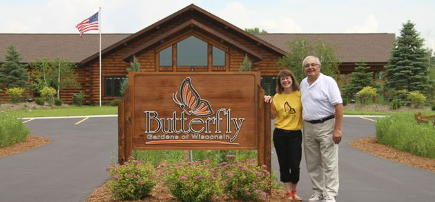 Butterfly Gardens of Wisconsin, Appleton, Wisconsin