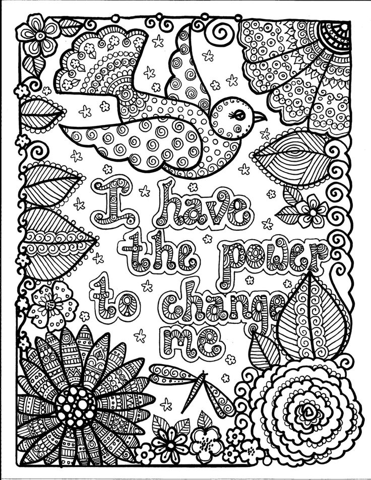 Colouring Pages For Adults Nz : Instant download just be inspirational art for you to