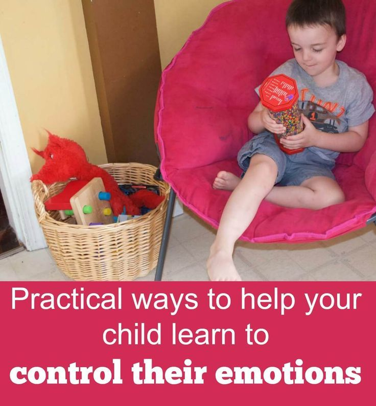 Helping your child learn to control their emotions is so important! Create a cool-down area in your home gives them the tools they need to control their emotions.