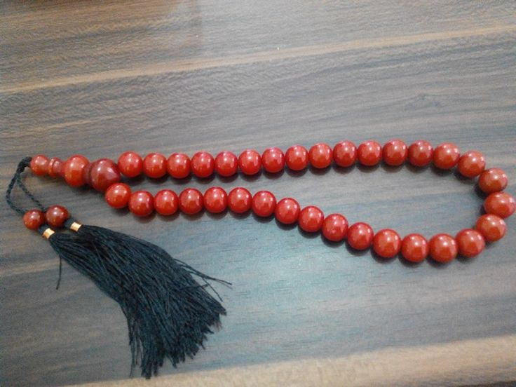 Tasbih pocok (buah gebang) 10mm isi 33. Check www.indonesianhandycraft.com for more info.