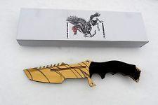 Himmelsschmiede Jagdmesser Fahrtenmesser CS Huntsman Tiger Tooth Messer Knife GO | eBay