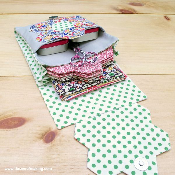 Hexigon Travel Kit - FREEBIES FOR CRAFTERS