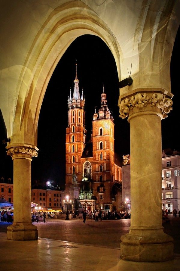 Beautiful Krakow, Poland  http://www.travelandtransitions.com/destinations/destination-advice/europe/