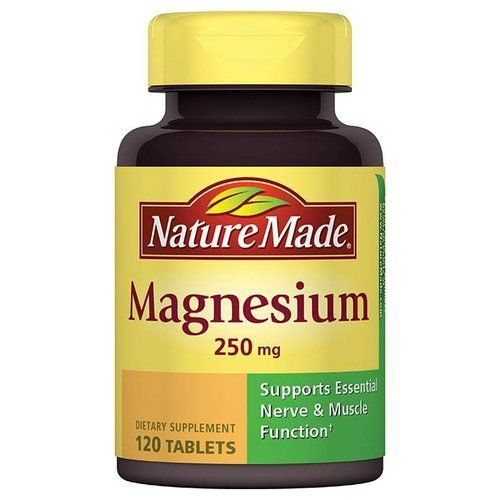 Nature Made Magnesium Dietary Supplement Tablets, 250mg, 120 Count -- Visit the image link more details.