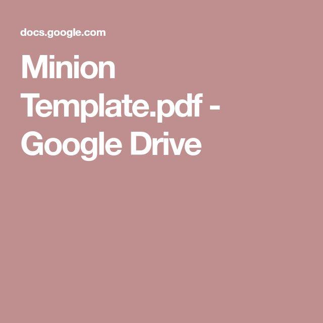 Minion Template.pdf - Google Drive