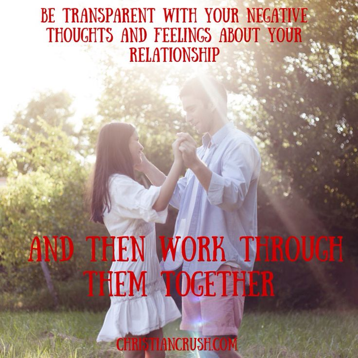 Christian singles and marrieds, remember to share your negative thoughts and feelings with your spouse.