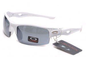 34feb9fe9b Fake Oakley Sunglasses White Frame Polished Red Lenses | City of ...