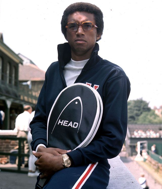 Arthur Ashe.  #tennis