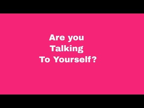 Are you talking to yourself? | Narcissist abuse