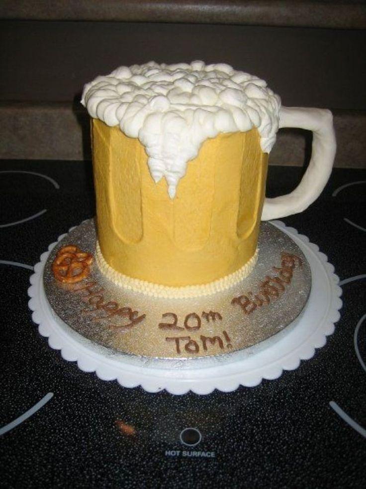 Beer Mug  on Cake Central