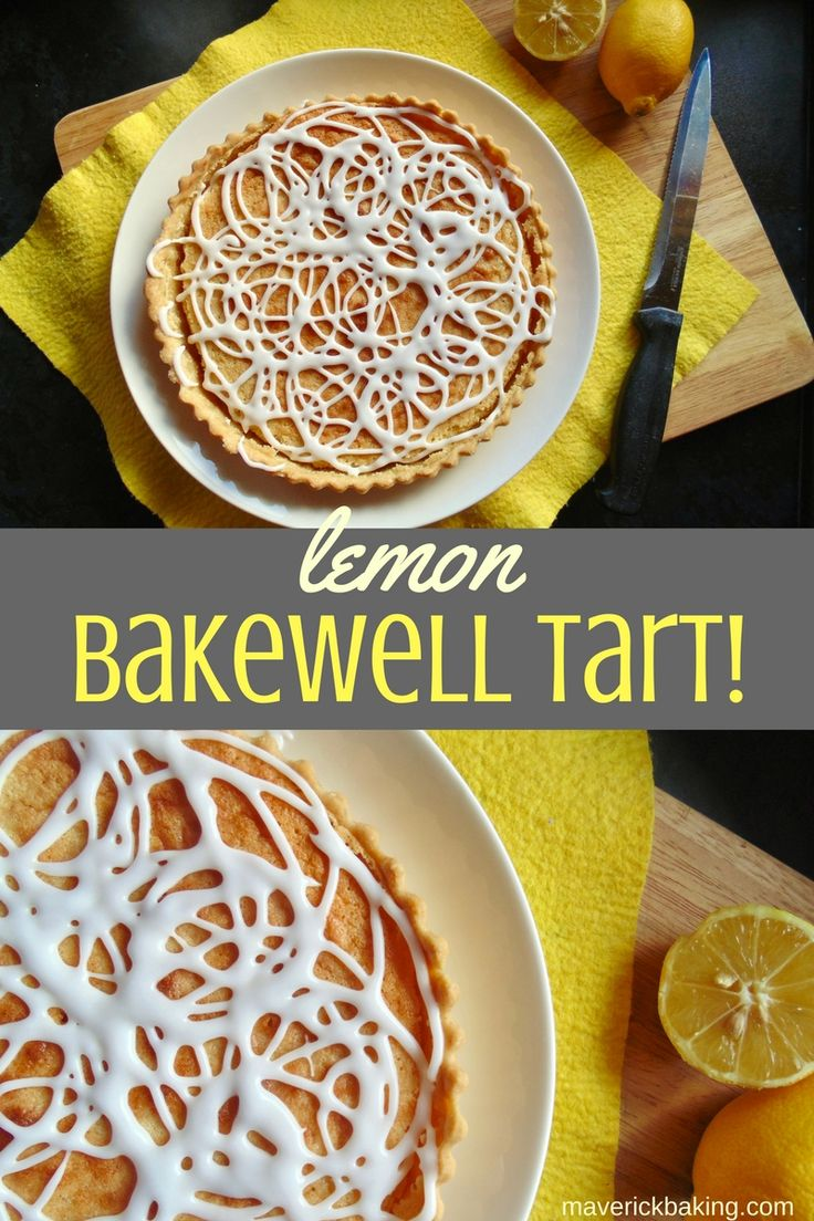 Lemon Bakewell Tart; crisp shortcrust pastry topped with tangy lemon curd and a sweet lemon frangipane (that's a posh name for almond-based cake!) Classics are always good, but this citrus twist on a traditional Bakewell tart is a real winner!
