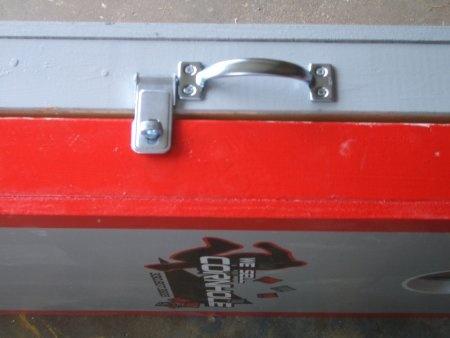 Lock And Handle For Our Cornhole Set Diy Backyard
