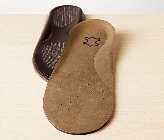 Kožené gélové vložky do topánok, 1 pár