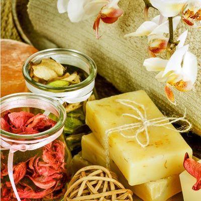 Seife herstellen - Seifen-Rezept: Naturseife selber machen: