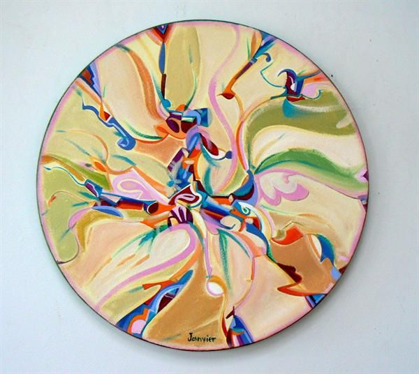 Earth Movement by Alex Janvier