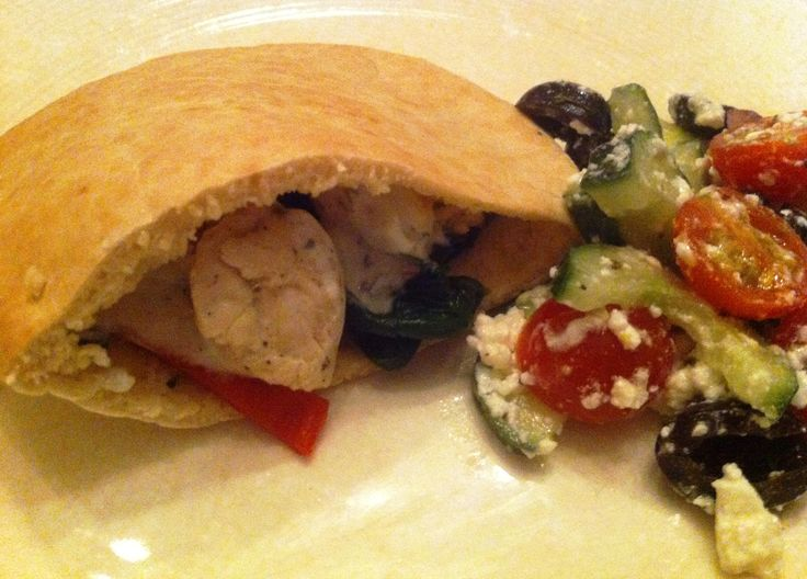 Dinner| Griekse pita's