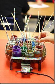 Crayon Batik DIY instructions are FANTASTIC!! GREAT examples!