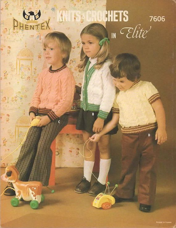 Knitting Pattern  Vintage Cable Pullovers and by MyMayaMade, $3.33