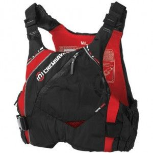 Nipper Skipper – Kite Buoyancy Aid 50N – Black/Red – front
