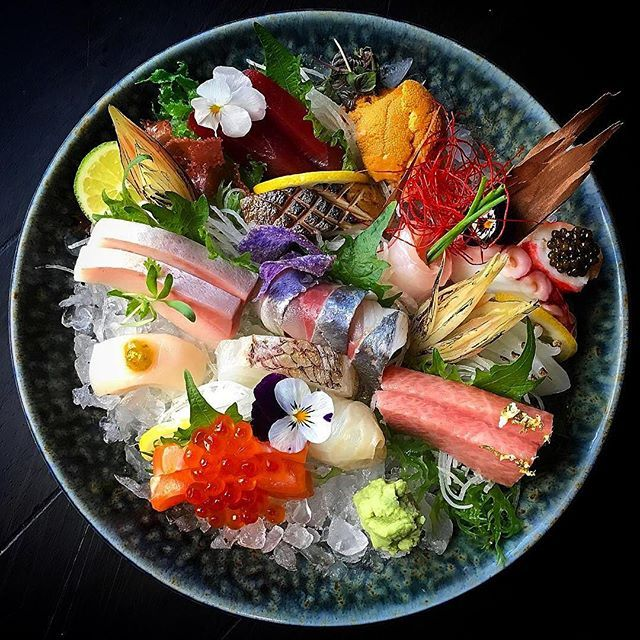 Sashimi by @chefjohn  Join our Cookniche community for chefs, food lovers, enthusiasts, photographers, food designers and all those who work with and around food  Cookniche.com/Register
