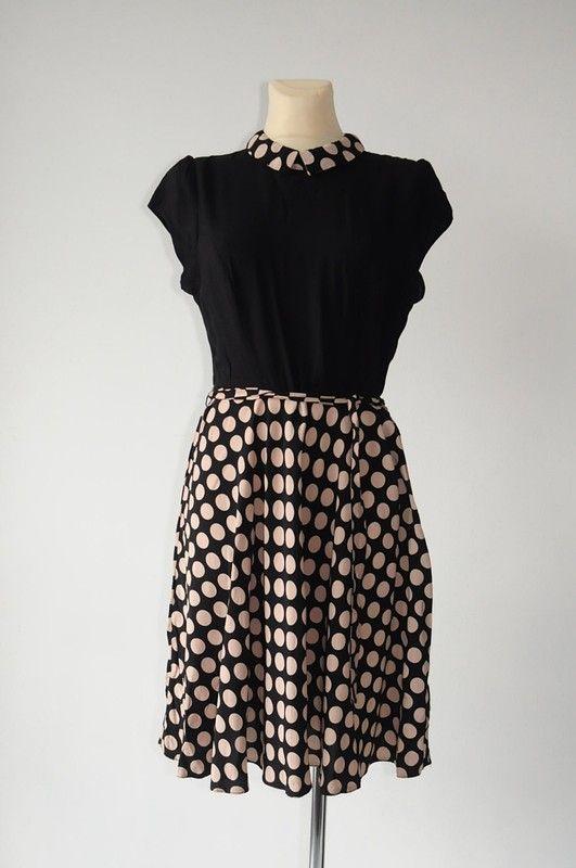 398d18458c Sukienka w groszki r. 42 - Dorothy Perkins - vinted.pl