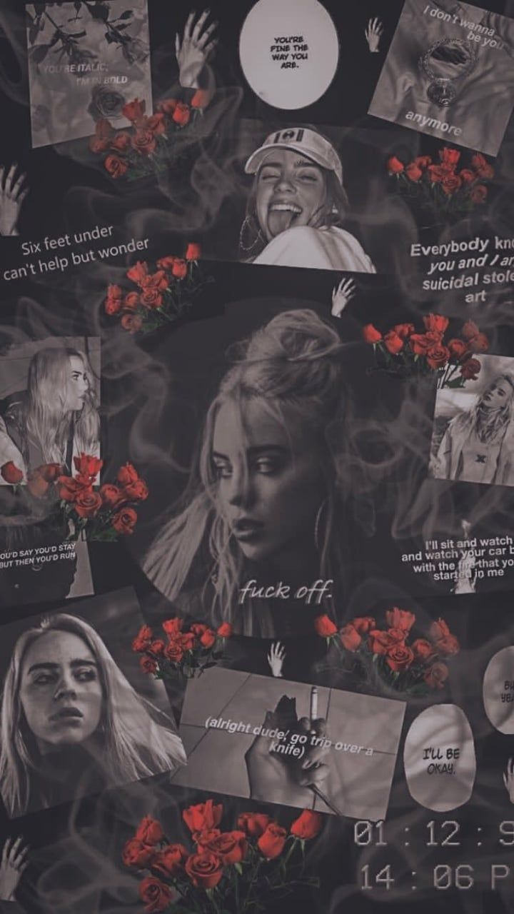 billie eilish wallpaper discovered by dyah on we it