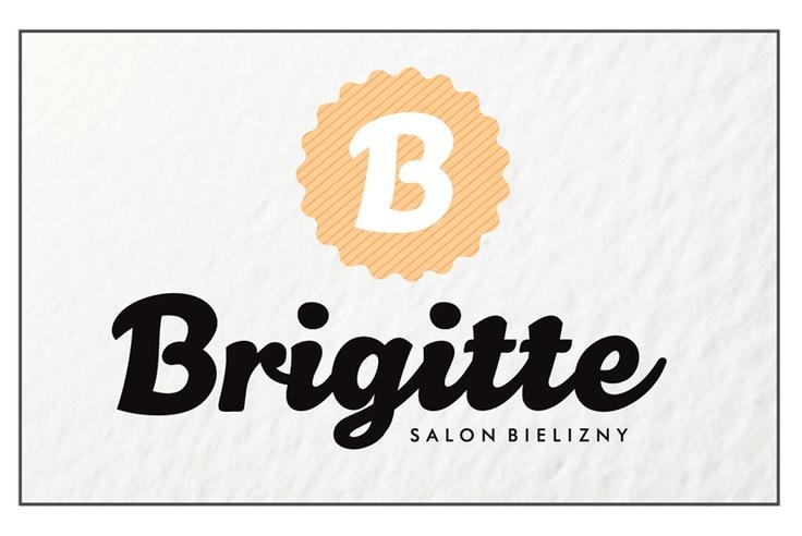 Brigitte - lingerie shop logo