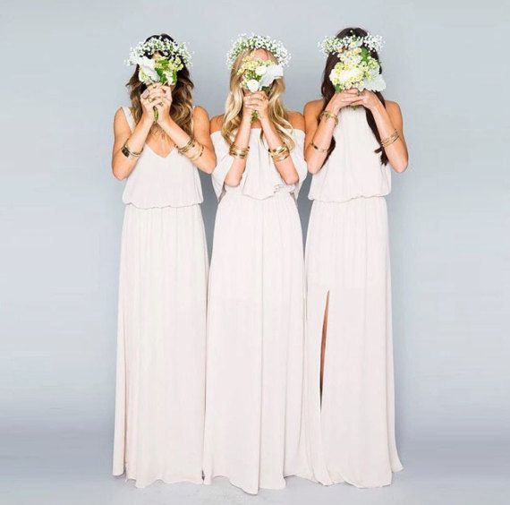 1000 ideas about bohemian bridesmaid dresses on pinterest