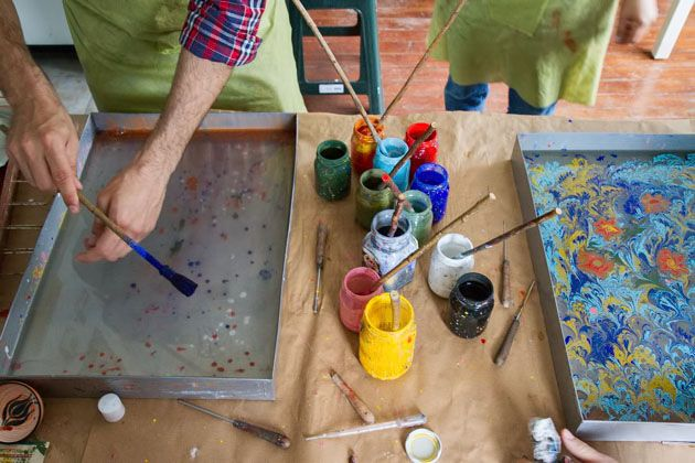 An Introduction to Turkish Marbling | For 91 Days in Istanbul – Travel Blog