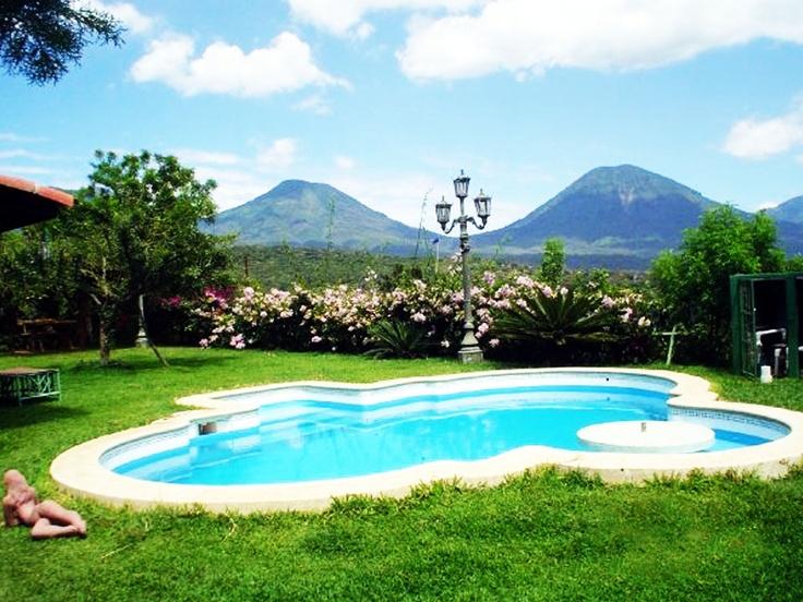 Hotel Juayua Sonsonate El Salvador, nice background!
