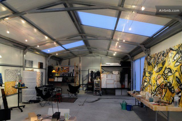 ART STUDIO + 2 rooms in Santa Cruz
