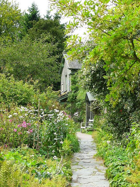 Beatrix Potter's Hill Top House and Garden by antshez, via Flickr