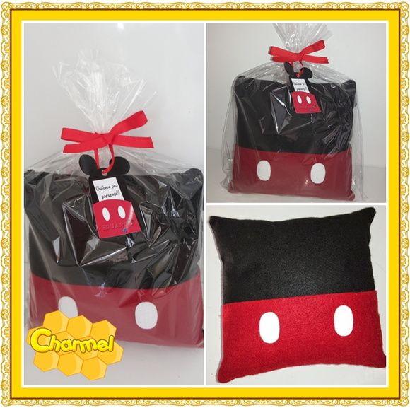 Almofada de feltro do Mickey