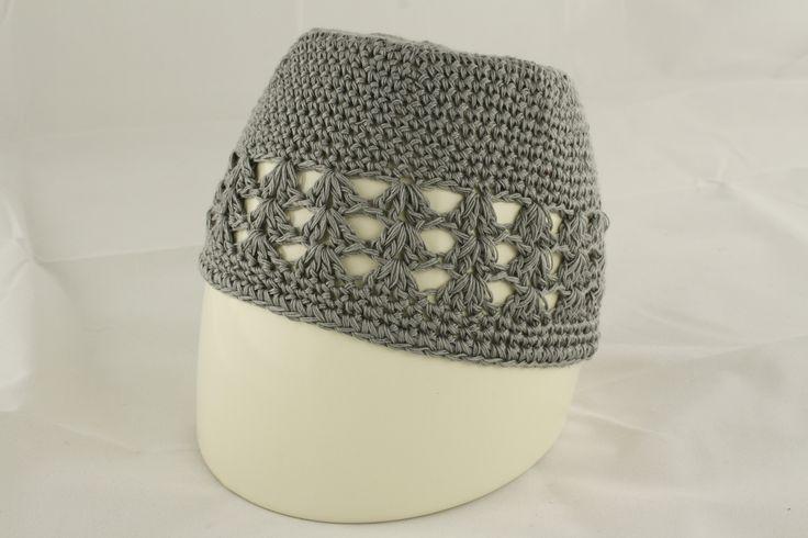 Light Grey Knit Hat