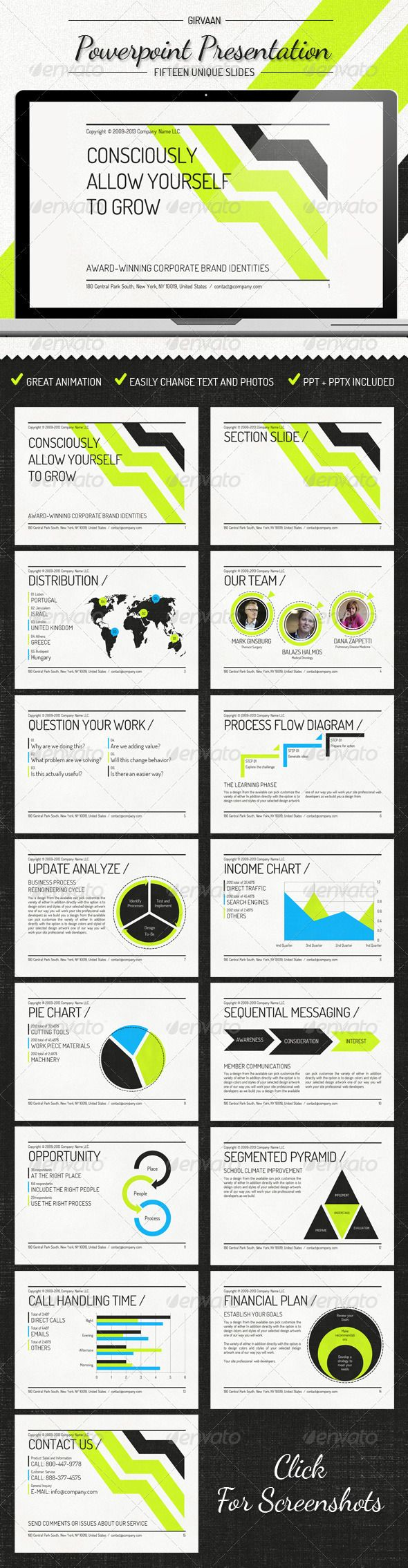 Girvann - Power Point Presentation - GraphicRiver Item for Sale