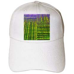 Some commercial carpet in Ink Outlines with purple and green Cap