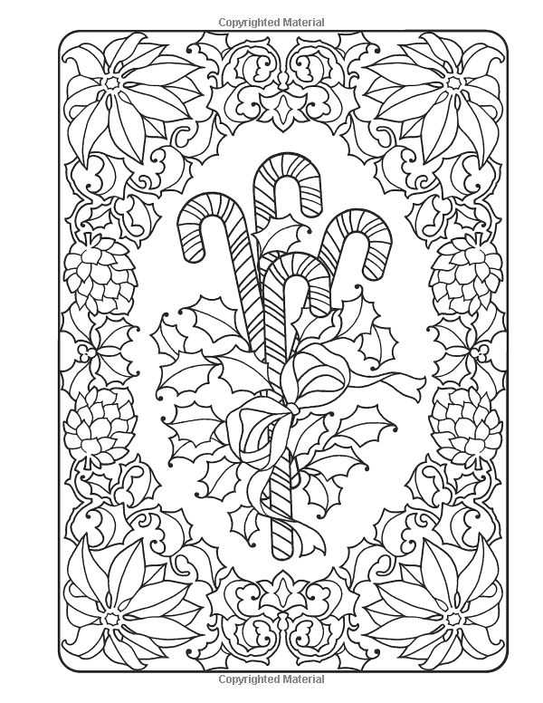 Creative Haven An OldFashioned Christmas Coloring Book