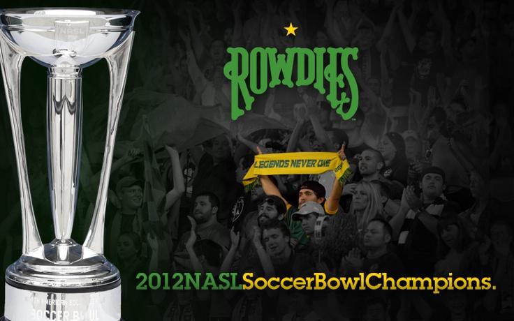 Tampa Bay Rowdies: 2012 NASL Soccer Bowl Champions