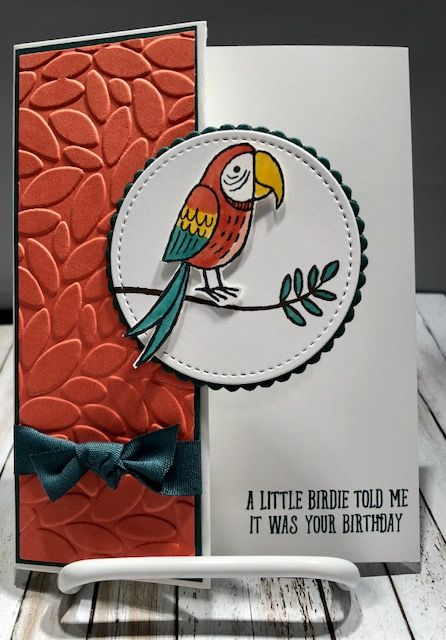 """Hello Stamper Friends, Here are a few more swap cards from the New Occasions catalog: Card Created By: Dena Tarkowski Whisper White 8-1/2"""" X 11"""" Cardstock $9.00 Tranquil Tide 8-1/2"""" X 11"""" C"""