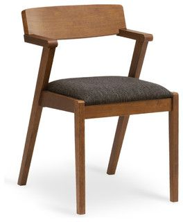 A Trendy Mid Century Modern Design, The Zola Dining Chair Beautifully Fuses  High Style And