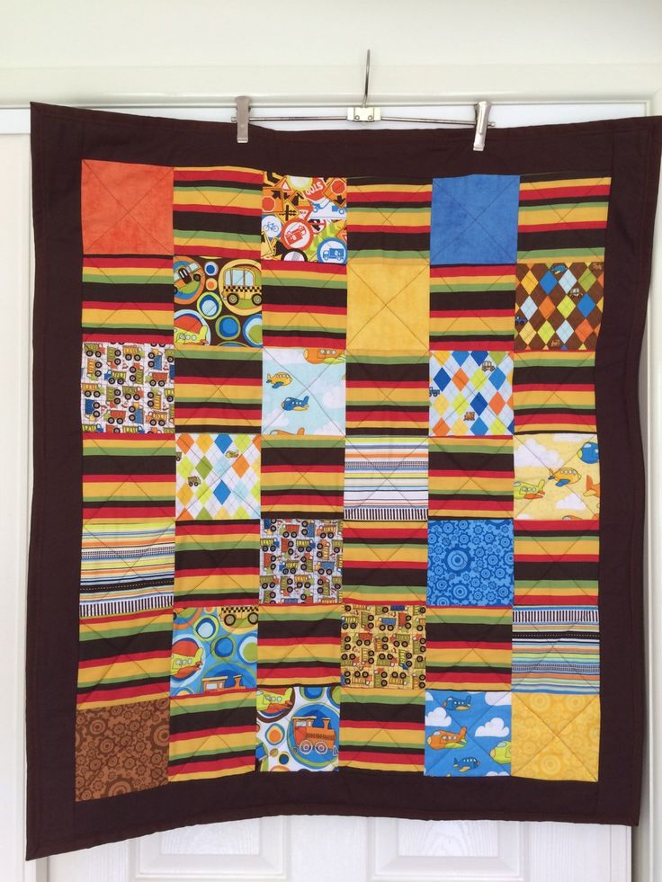 Baby Boys Cot / Crib Quilt by QuiltAroundTheClock on Etsy https://www.etsy.com/au/listing/216254849/baby-boys-cot-crib-quilt