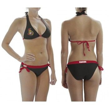 Ottawa Senators Contrast Waist Bikini